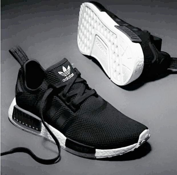 adidas nmd dames zwart