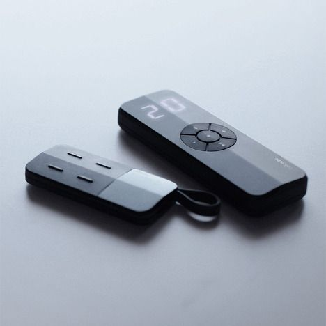 a minimalist multichannel remote control