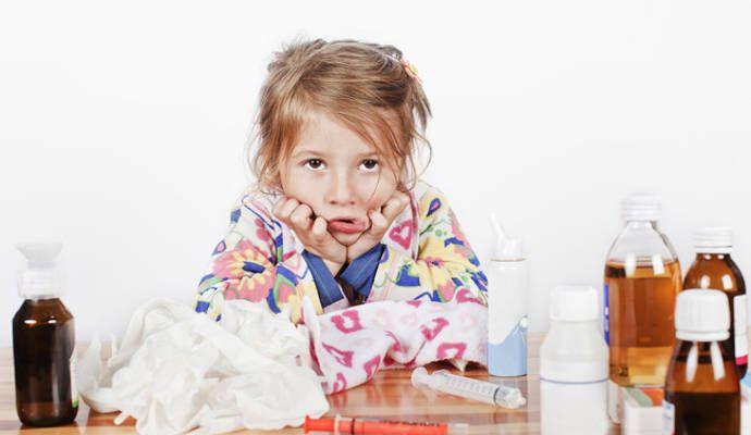 Народные средства от насморка детям