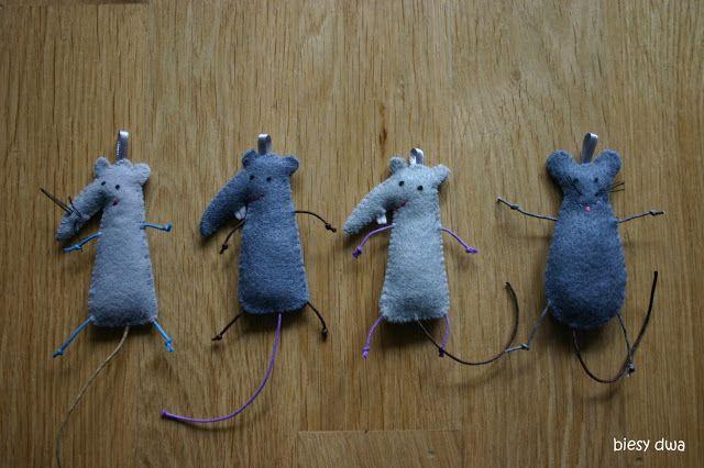 biesy dwa: szczury mi się przyplątały :)