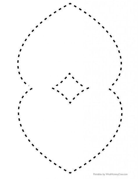 Easy DIY Folded Heart Notes {Free Printable Cricut Ideas