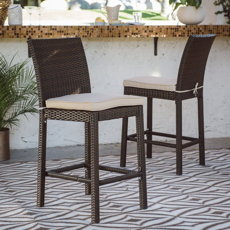 25 Best Ideas About Patio Bar Stools On Pinterest
