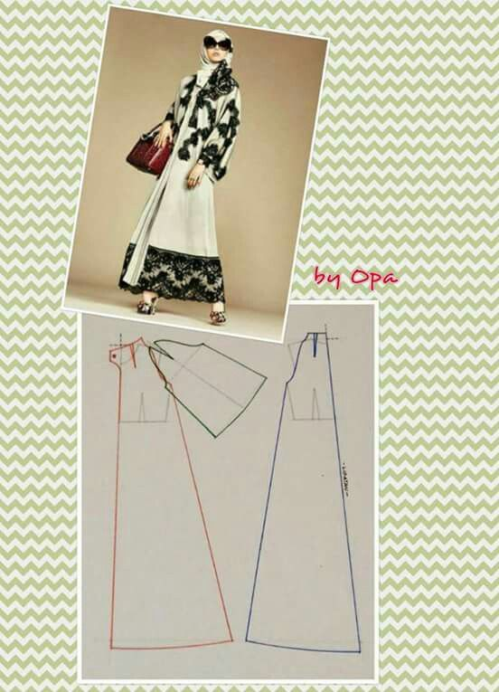 Dress for hijabers Gamis
