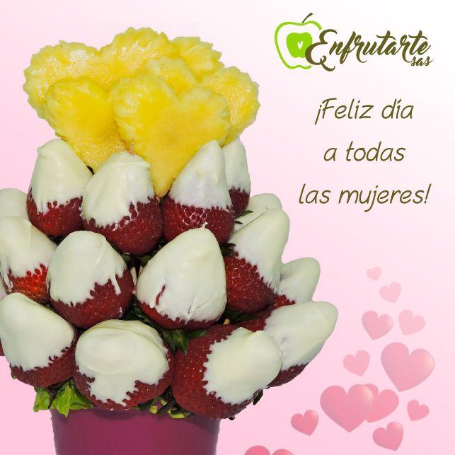 Visita nuestra página web  www.enfrutarte.com y encarga ya un detalle sin igual; regala algo original...¡algo con lo que puedas compartir, comer y conquistar!       ¡Feliz día a todas las mujeres, les desea #Enfrutarte! #8deMarzo #DíadelaMujer #mujer #amor #pasión #cariño #ternura #amistad #frutas #promoción Tenemos descuento del 10% en todos nuestros #arreglosfrutales