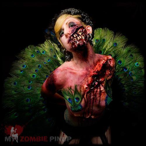 Zombie Graphic: Zombie Pin-up girls Calendar