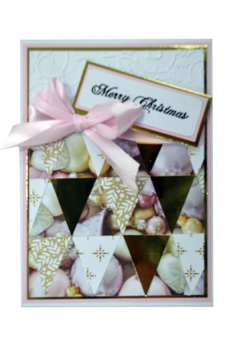 Pink Triangle Christmas Card