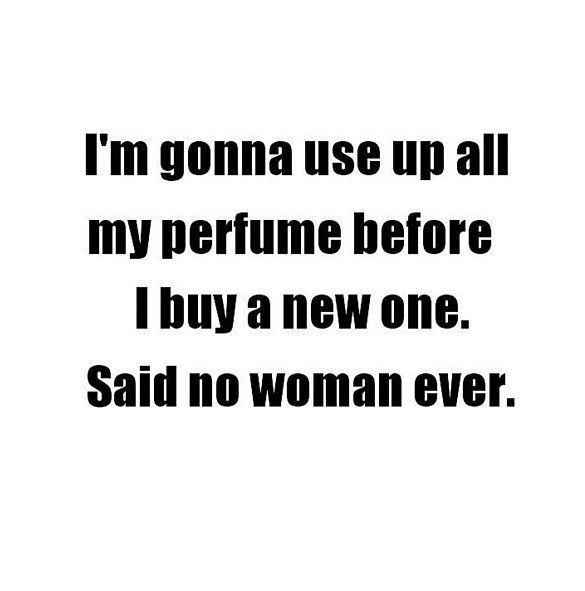 Csak lányos dolgok... Ti elhasználtatok már valaha egy egész üveg parfümöt mielőtt újat vettetek volna? -> http://www.fashionfave.com/csak-lanyos-dolgok#utm_source=pinterest&utm_medium=pinterest&utm_campaign=pinterest