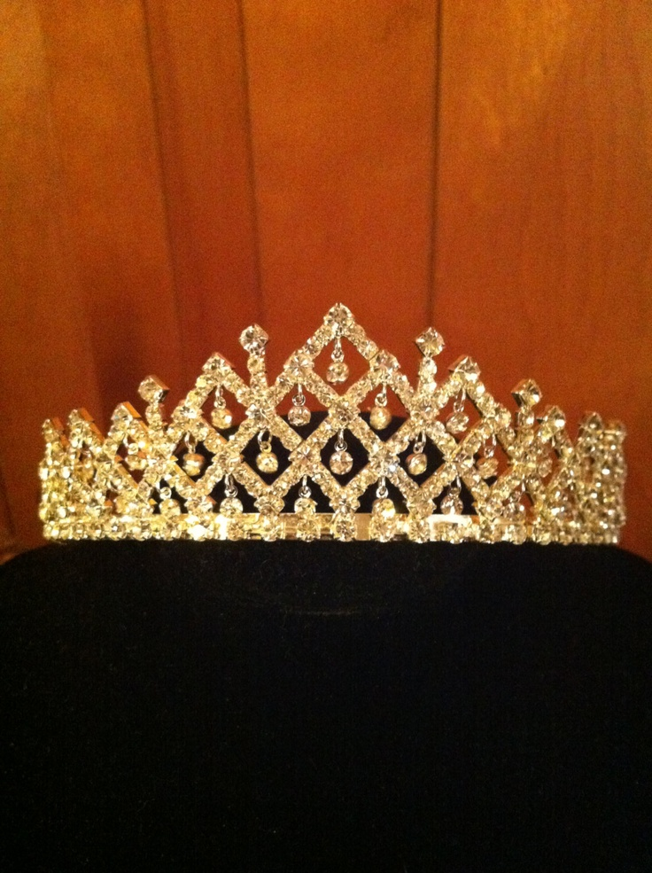 Sparkling Beautiful Crystal Tiara. $54.99, via Etsy. Perfect for a quinceanera tiara