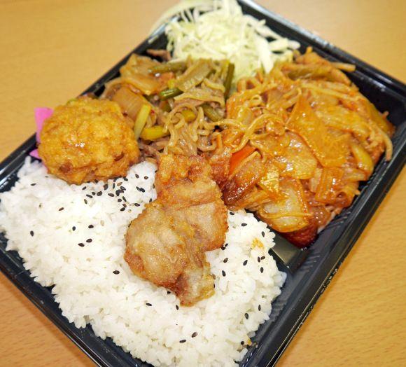 推定重量1キロ! かわせの「まんぷく弁当」が安すぎてお得すぎる!! 東京・亀戸