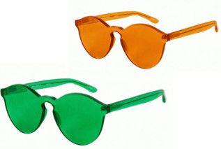 House of Holland x Linda Farrow Plexiglass Sunglasses | Highsnobiety