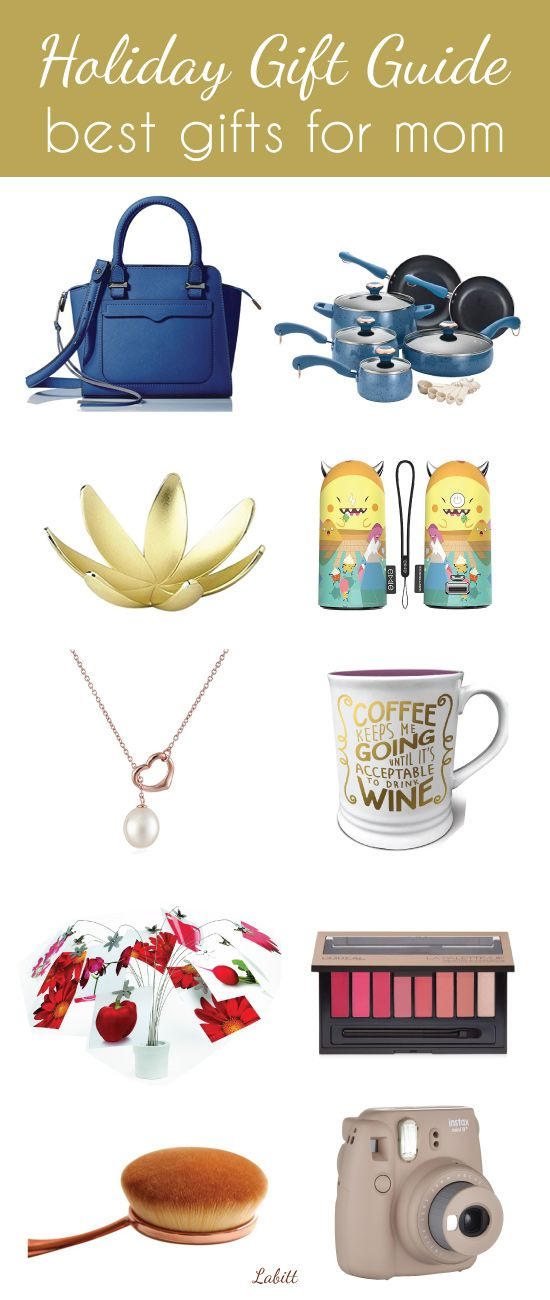 Best mom gifts for this holiday season. Fashion, accessories, tech gadgets, makeup and more presents loved by mother. holiday gift guide for her. Christmas gifts for mom.