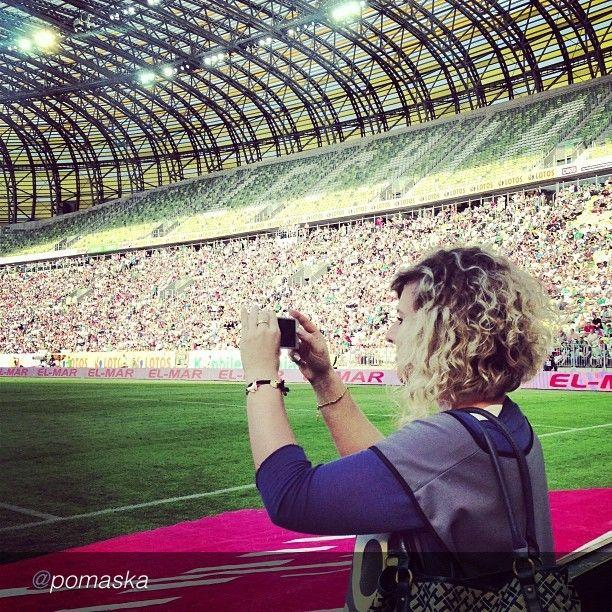 The best pics of Igersgdansk Instareporters. Lechia Gdansk #football #soccer #sport #pgearena #instamood #instagood #bwautiful #igers #instagramers #igerspoland   by @Aga Pomaska via @InstaReposts