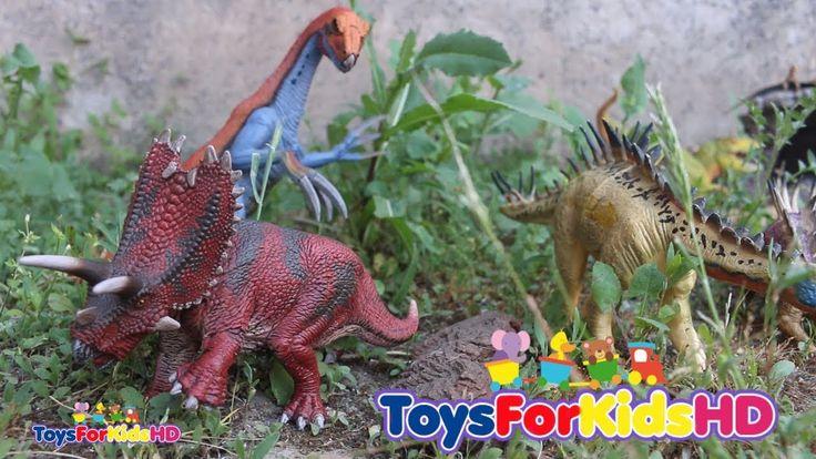 Videos de Dinosaurios para niños Lo Mejor de Aventuras de Dinosaurios de Juguete #2 Dinosaurs Toys