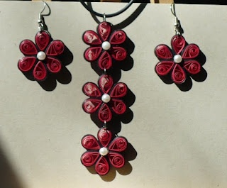 Let's create: Quilling Jewelry