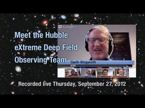 Meet the Hubble eXtreme Deep Field Observing Team