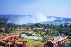 Zambezi Sun Hotel, a stone's throw from Victoria Falls