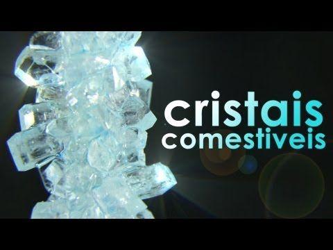 Deliciosos cristais de açúcar (experiência fácil e receita de pirulito) - Manual do Mundo - Rede Canais