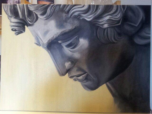 Perseus - olio su tela 50x70