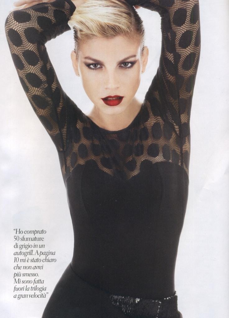 Emma with a Tezenis bodysuit on Gioia ITA