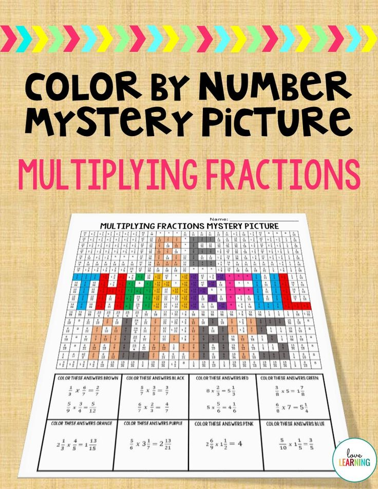 This color by number mystery picture is a great way to practice multiplying fractions, especially around Thanksgiving time!Students multiply the fractions in order to color the picture. Common Core 5.NF.B.4