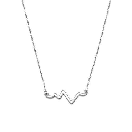 925 zilveren ketting. 925 silver necklace.
