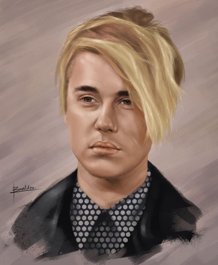 ArtStation - Justin Bieber Portrait, Karl Baldon