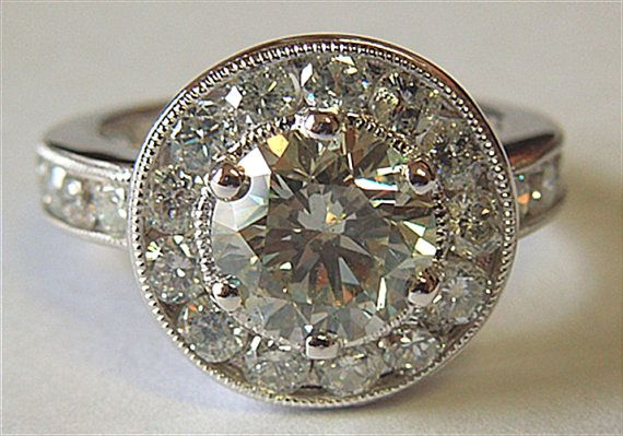 Hey, I found this really awesome Etsy listing at http://www.etsy.com/listing/167540611/big-diamond-ring-400-carat-round-diamond