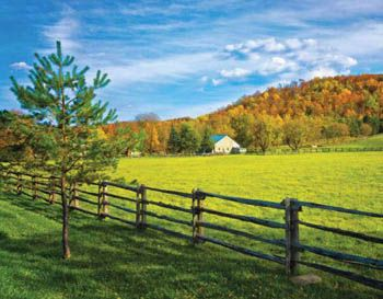 2014 Ontario Scenic Business Promotional Calendar - October 2014 - Caledon Hills