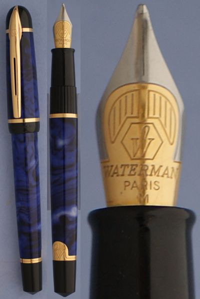 Waterman Phileas blue - Phileas used to be my goto before they stopped making them and they got expensive - I now have three of these (plus one red) ~mgh