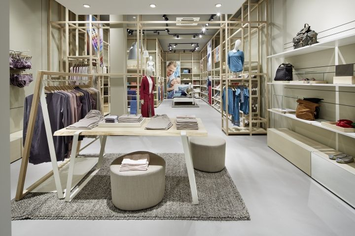hessnatur Store by Blocher Blocher Shop, Frankfurt – Germany » Retail Design Blog