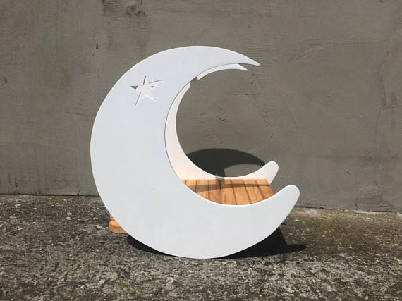 Mini Moon with Star Photography Prop Newborn Baby Toddler