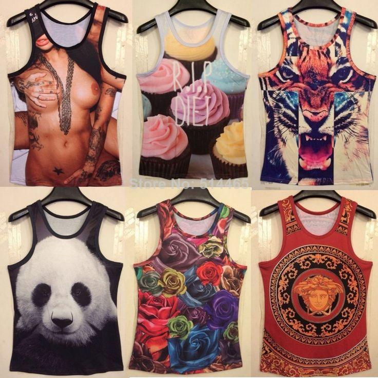 Camisetas de Tirantes on AliExpress.com from $6.8