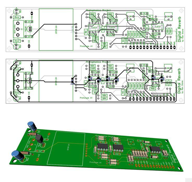 Bell Accutronics Digital Reverb BTDR 2H