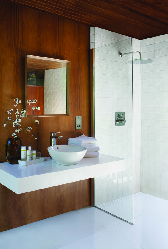 Create a place where you can retreat and be left in peace for a while. #bathroom @SottiniUK