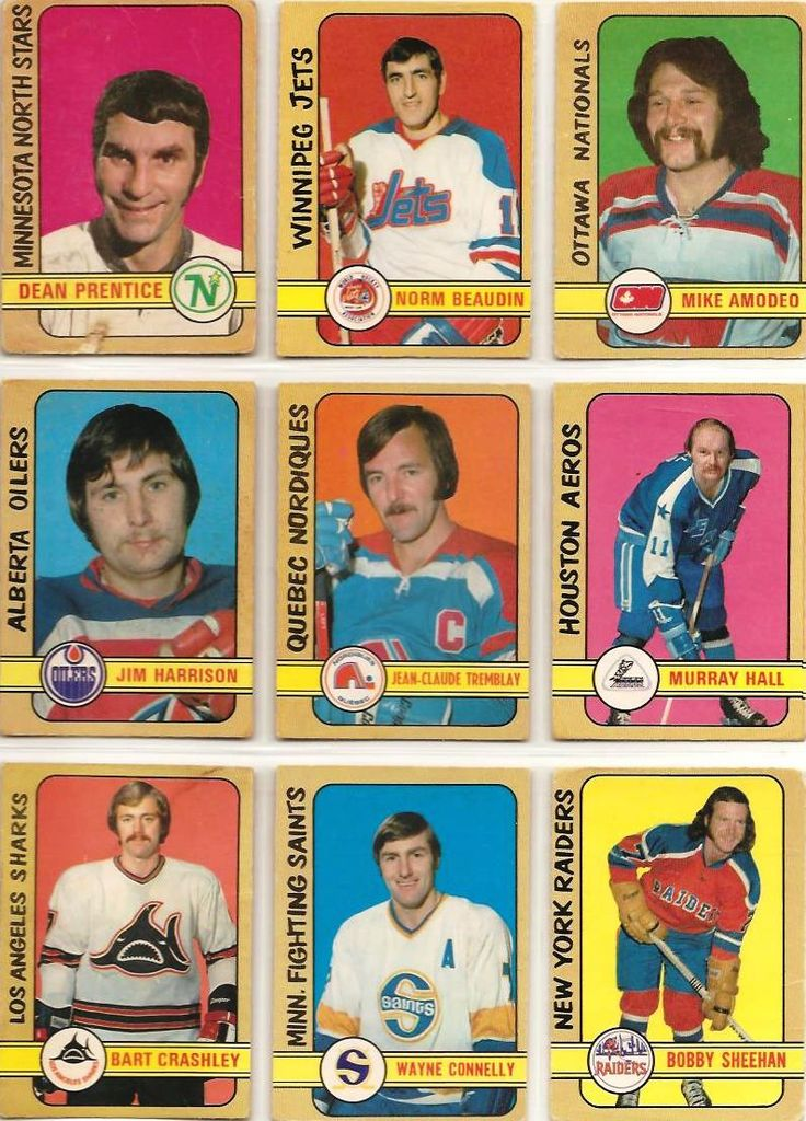 289-297 Dean Prentice, Norm Beaudin, Mike Amodeo, JIm Harrison, Jean-Claude Tremblay, Murray Hall, Bart Crashley, Wayne Connelly, Bobby Sheehan