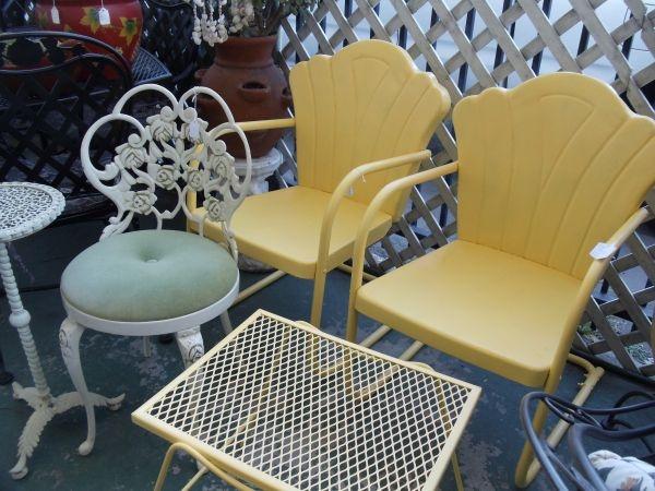 retro patio furniture - Garden Furniture Gliders