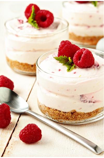 no bake cheesecake recipe - www.mybakingaddiction.com