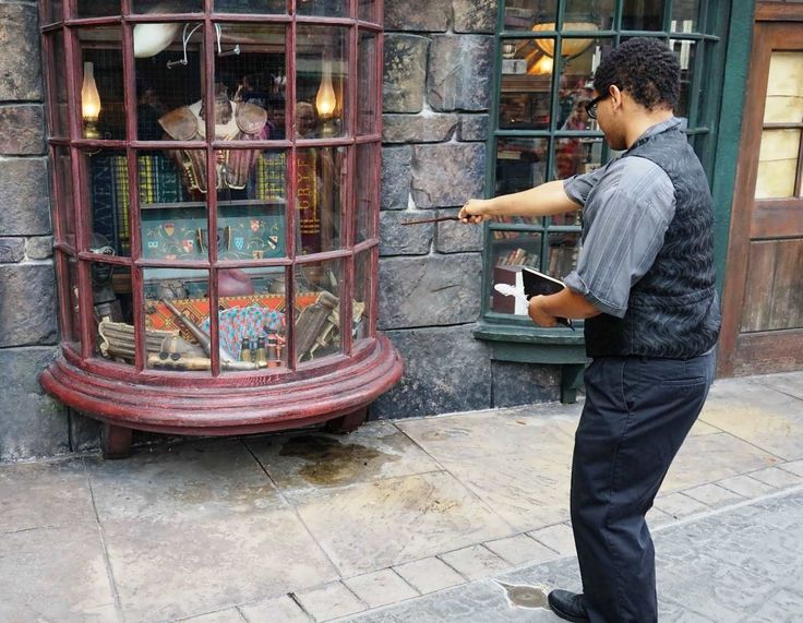 New page! Interactive wands & spell-casting in Universal's Wizarding World of Harry Potter