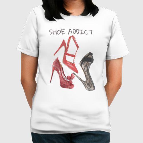 Shoe Addict dari Tees.co.id oleh Voztine