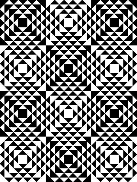 Geometric Tribal Art Print