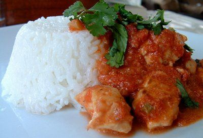 A Feast for the Eyes: Chicken Tikka Masala - A little spicy but just right