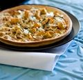 Best Vegetarian Pizza Recipes and Toppings for a vegetarian pizza - meatless pizza ideas recipes and toppings. We eat meat so I would add some to some of these, but the pumpkin one sounds great!