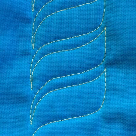 Twisted Rope, Free Motion Quilting Tutorial
