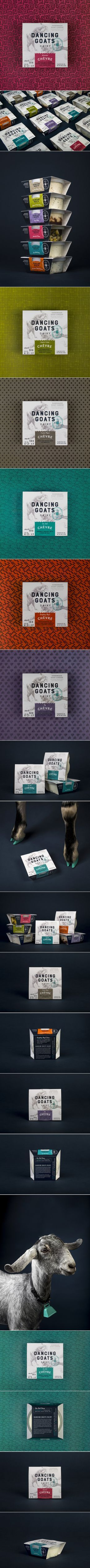 This Goat Cheese Packaging Definitely Stands Out From the Herd — The Dieline | Packaging & Branding Design & Innovation News