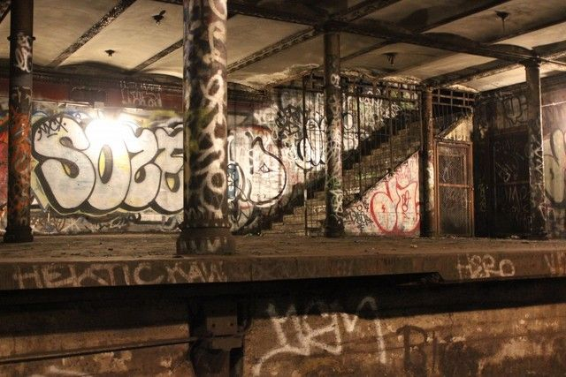 The Abandoned 91st Street Subway Station On The 1 Line In
