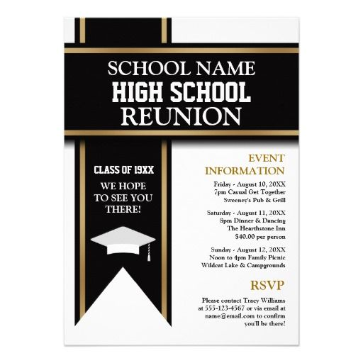 21 best Exceptional Reunion Invites images on Pinterest Class - invitation card for get together