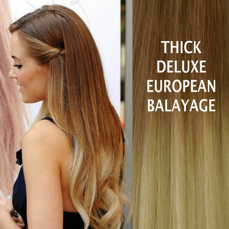 25 unique hair extensions australia ideas on pinterest hair thick delux 10613 balayage ombre clip in remy human hair extensions brown blond pmusecretfo Gallery