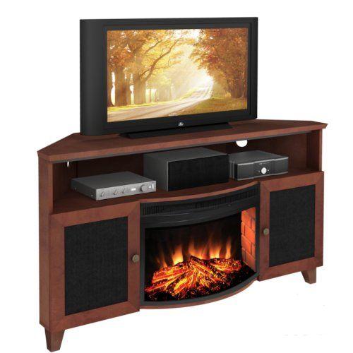 43 best Corner Fireplace TV Stand images on Pinterest   Corner ...