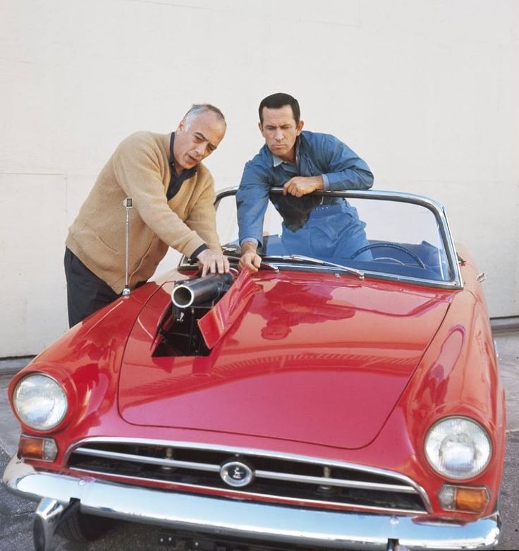 Edward Platt and Don Adams. Get Smart.
