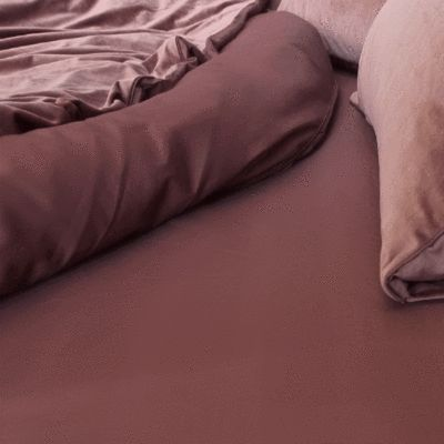EDEN Egyptian Cotton Quilt Cover - Rose